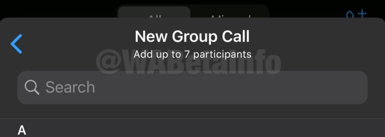 O novo recurso dobra a quantidade de pessoas nas chamadas.