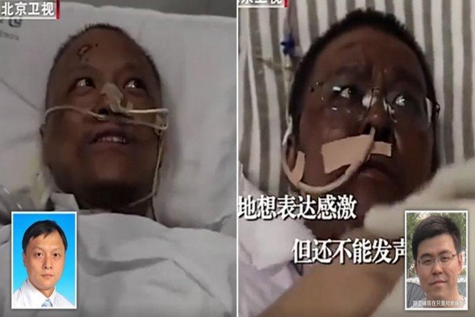 Apesar das complicações, os dois médicos estão se recuperando