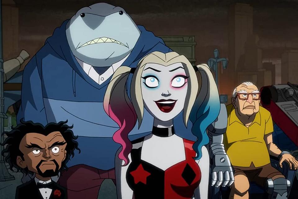 Harley Quinn e seu grupo