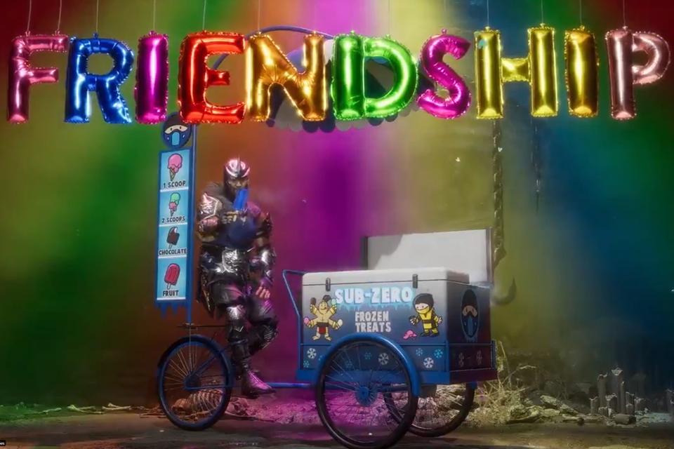 Mortal Kombat 11: veja o Friendship do carrinho de sorvete do Sub-Zero |  Voxel