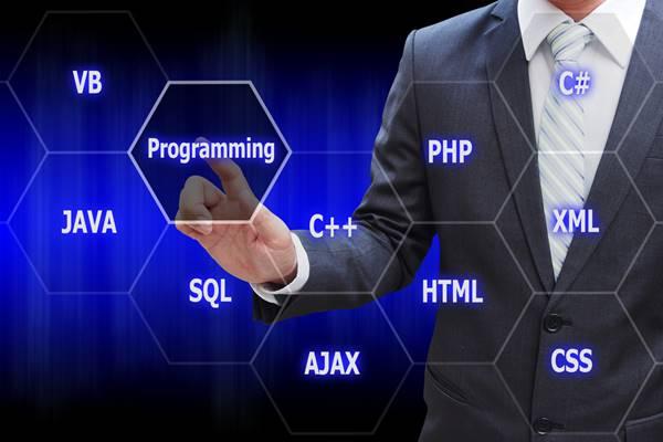 As linguagens de programação mais usadas.