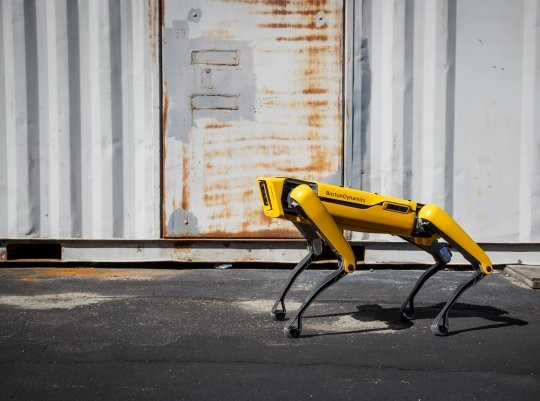 Robô quadrúpede pode ser usado em várias atividades, como monitoramento em construção civil e produção industrial