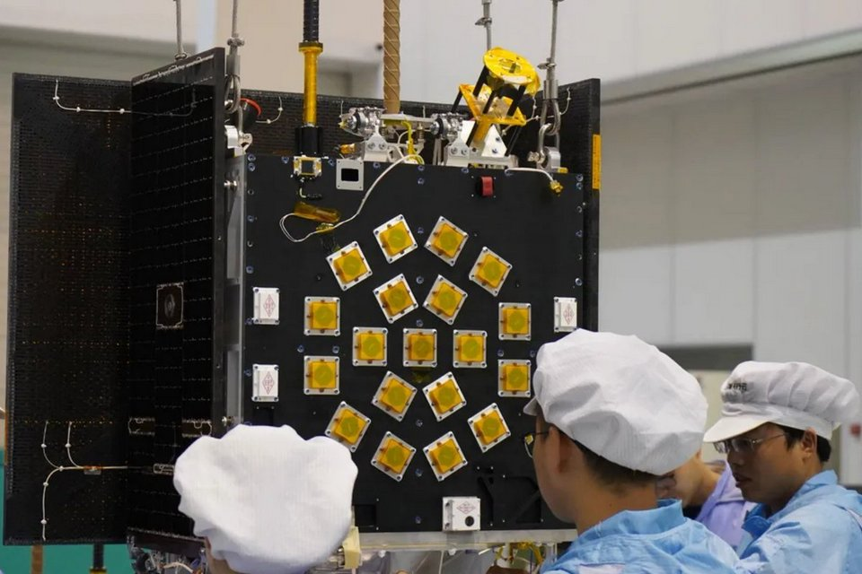 China lança primeiros satélites de sua constelação para IoTs