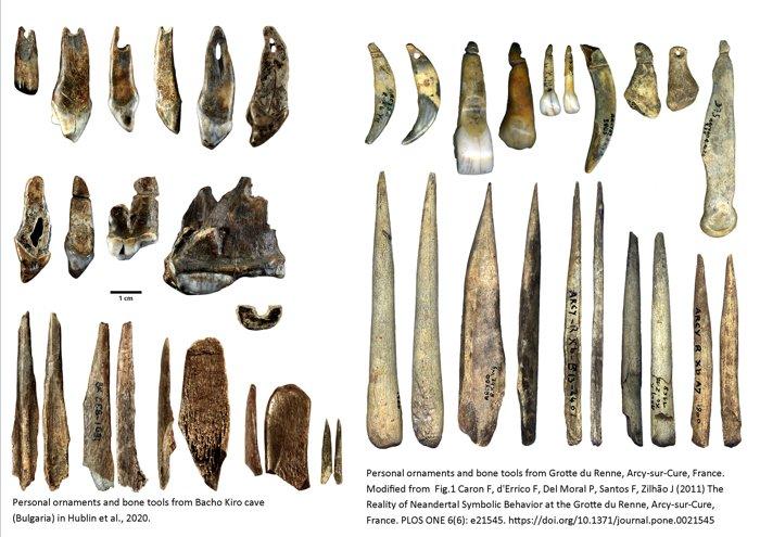 Adornos e utensílios indicam conexões culturais entre humanos modernos e Neandertais
