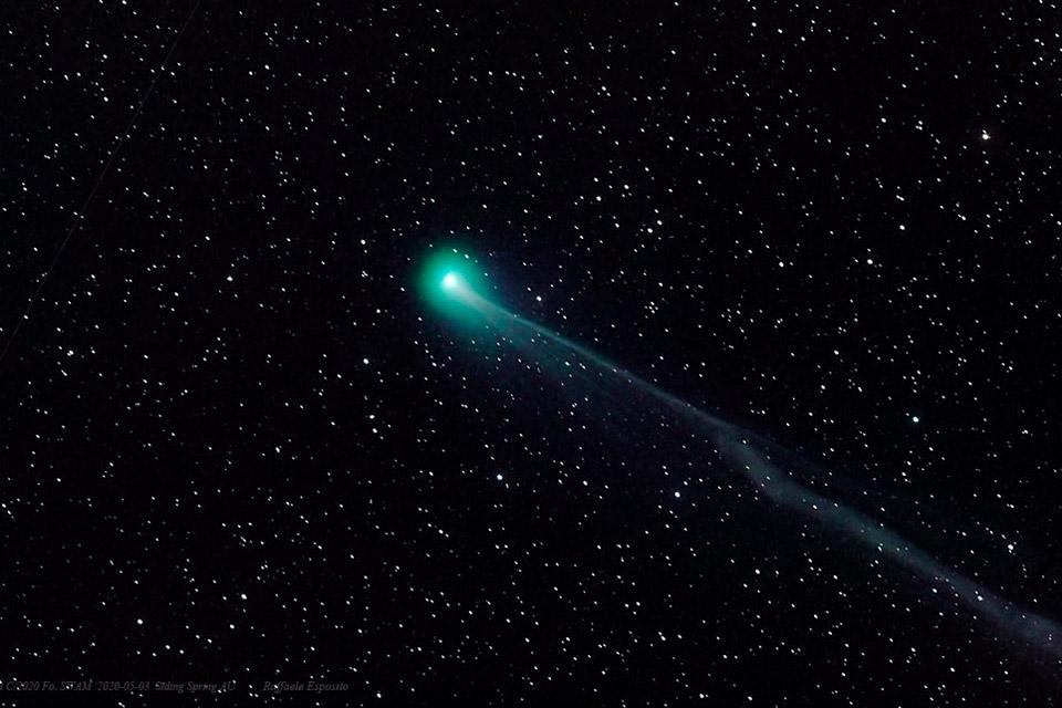 Visível a olho nu, cometa SWAN pode desaparecer em breve