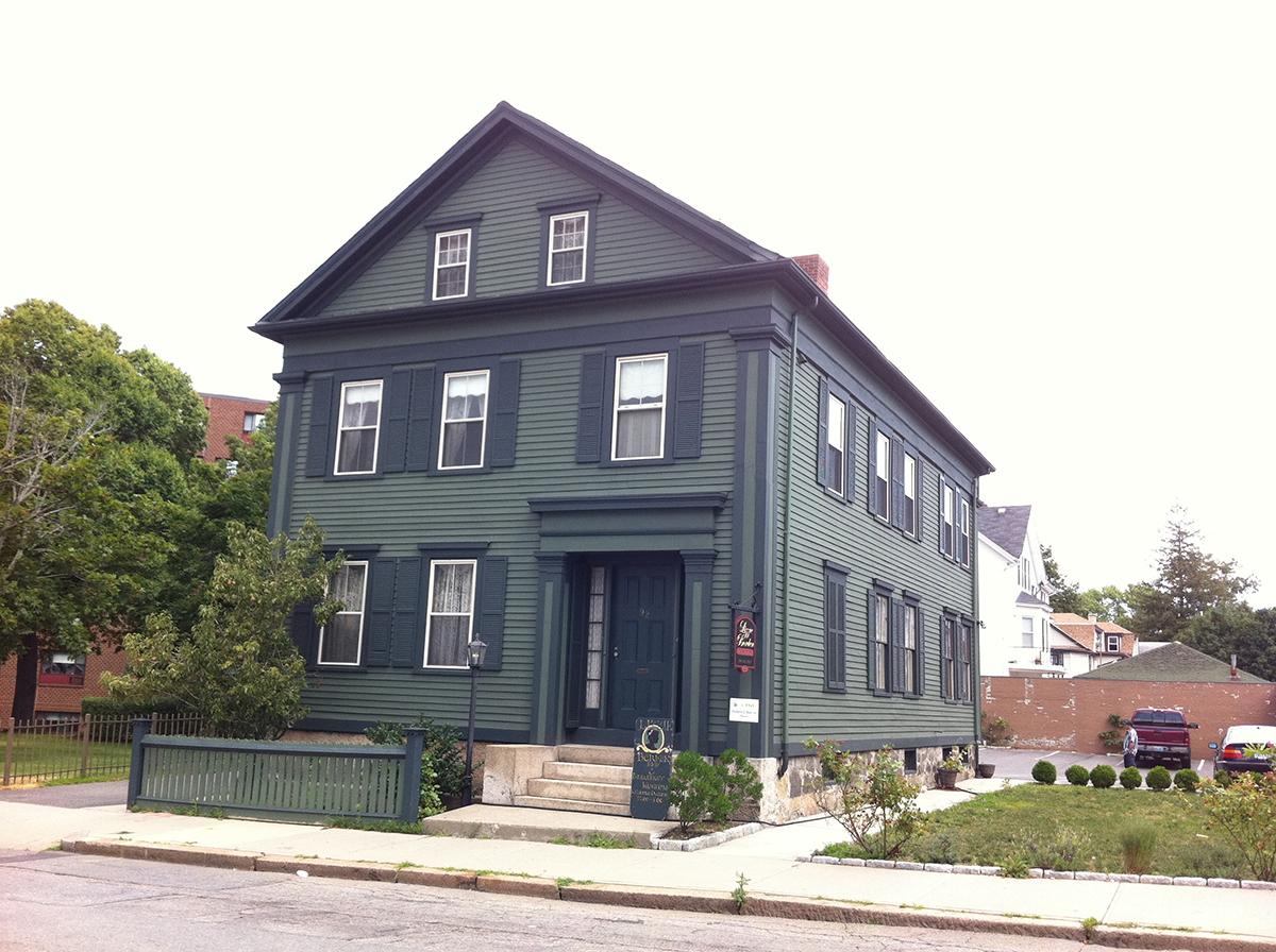 A casa se tornou um museu (Fonte: Boston Magazine/Reprodução)