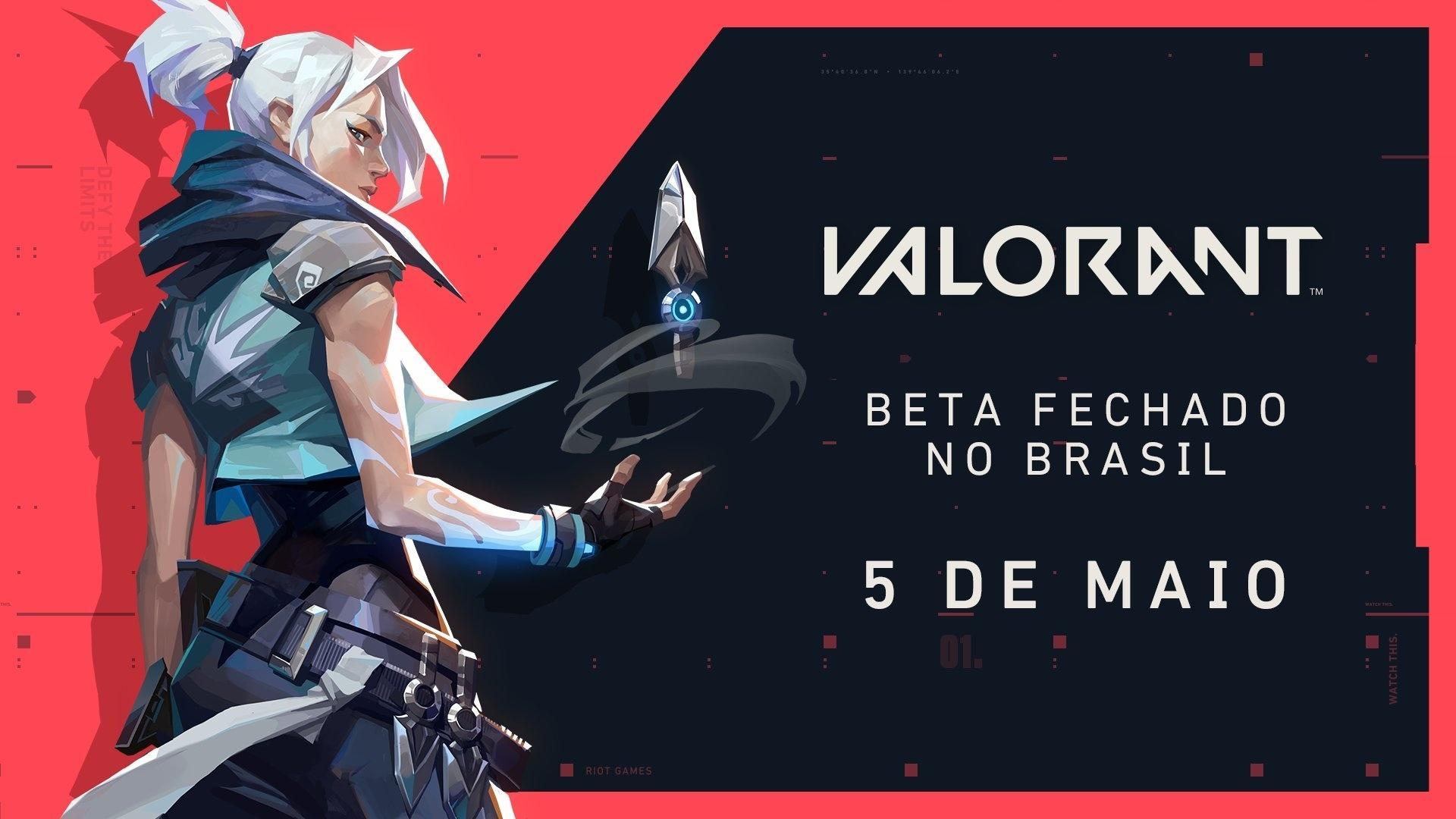 Data de lançamento do Beta no Brasil