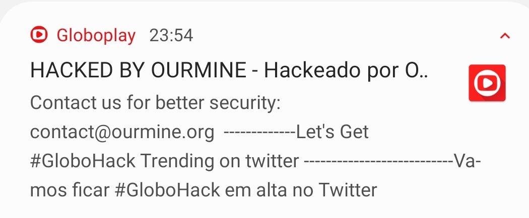 Globoplay hack