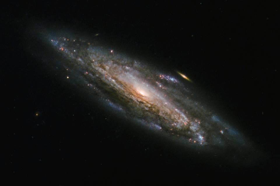 Disco galáctico formado logo após o Big Bang é detectado