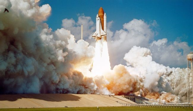 Os foguetes convencionais ainda dominam os lançamentos espaciais.
