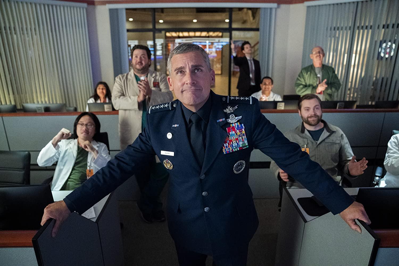 A série Space Force é esperadíssima pelos fãs da comédia de Steve Carell. (Fonte: Netflix/Reprodução)