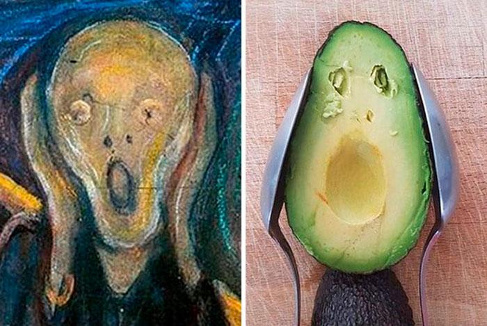 """""""O grito"""", por Edvard Munch. Fonte: / Bored Panda / Divulgação"""