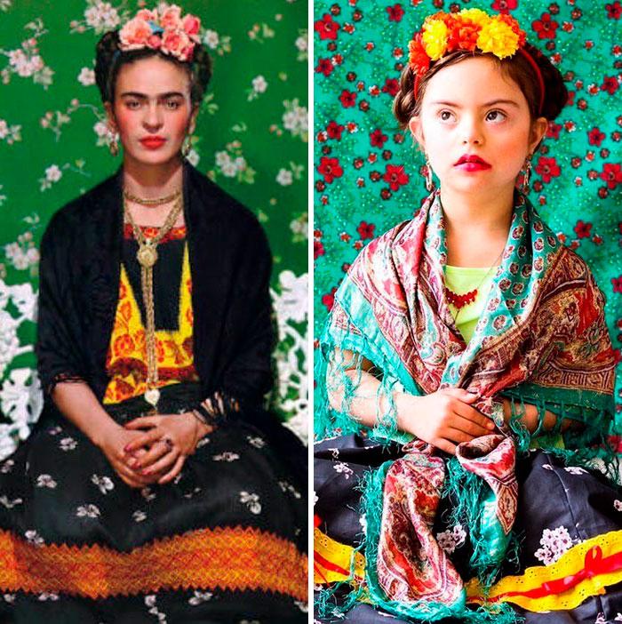 Frida Khalo. Fonte: Bored Panda / Divulgação