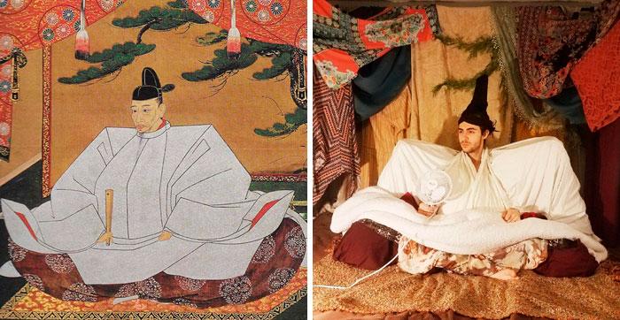 """""""Retrato de Toyotomi Hideyoshi"""", por Kano Mitsunobu"""