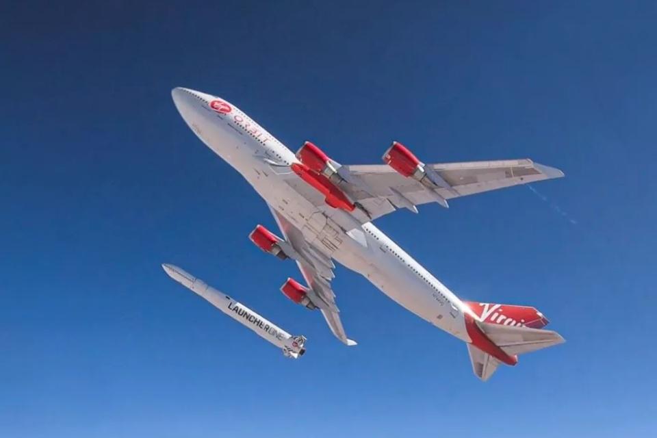 Virgin Orbit falha em primeiro teste de lançamento do LauncherOne