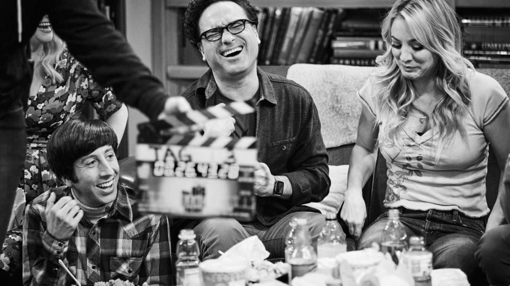 Bastidores da gravação do último episódio de The Big Bang Theory. (CBS/Reprodução)
