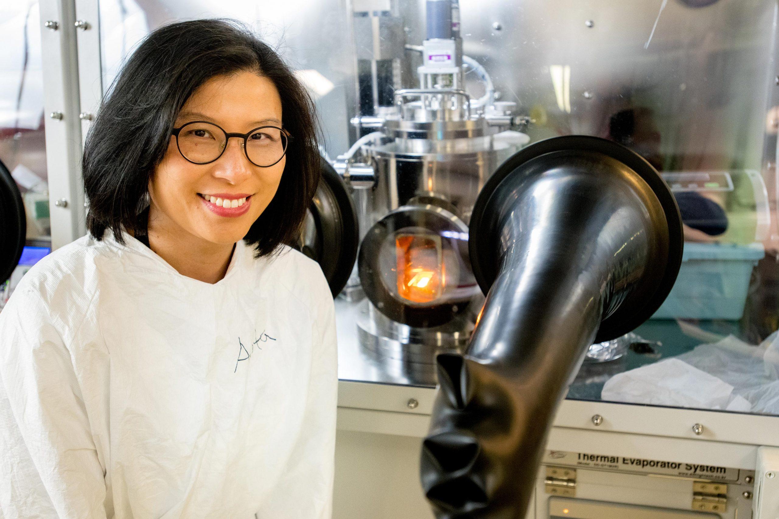 Anita Ho-Baillie, pesquisadora responsável pela tecnologia.
