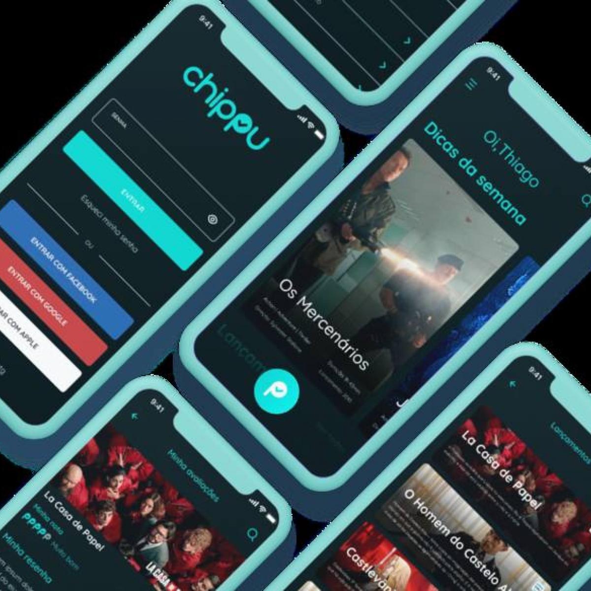 Chippu ajuda a escolher um filme para assistir