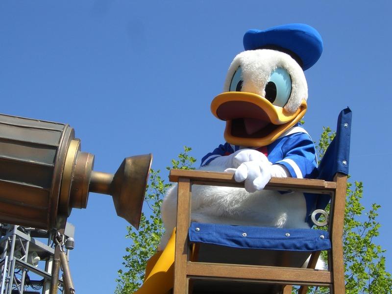 Pato Donald da Disneylândia de Paris. (Fonte: Pixabay)