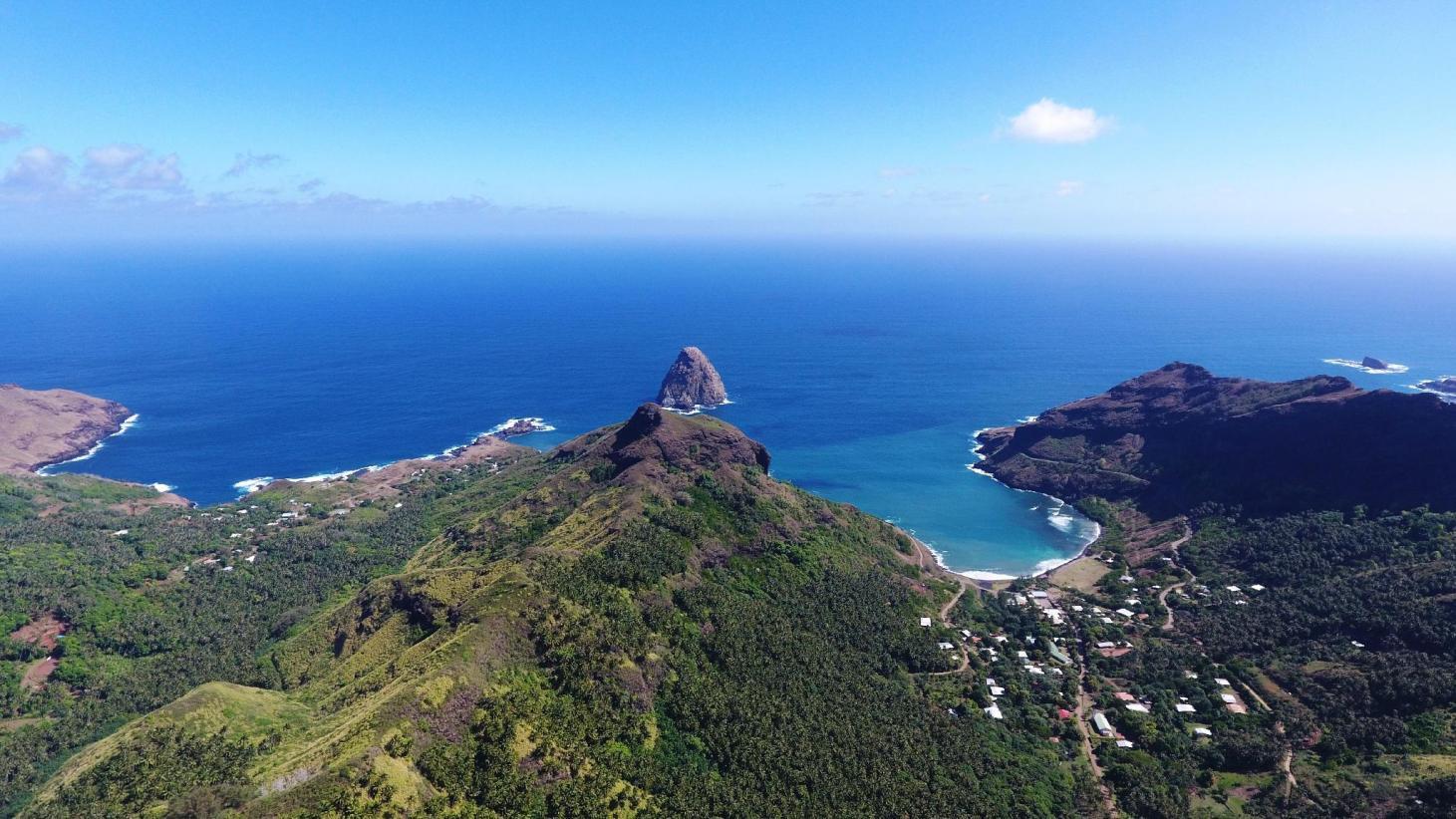 Ilhas Marquesas, da Polinésia Francesa.