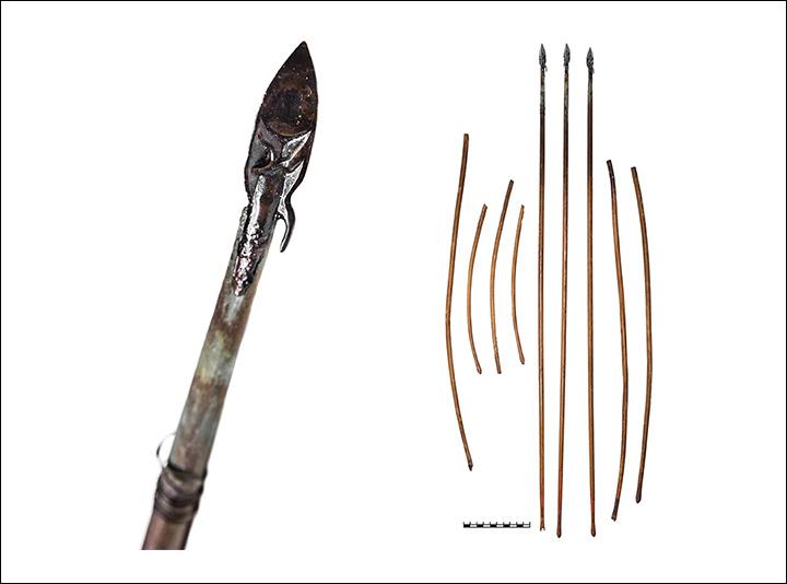 Flechas. (Fonte: Vladimir Semyonov, M.O. Mashezerskaya / The Siberian Times)
