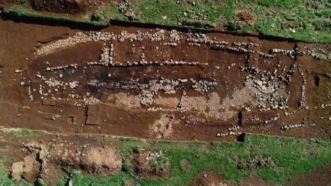A escavação que revelou o assentamento. (Fonte: Bjarni Einarsson)