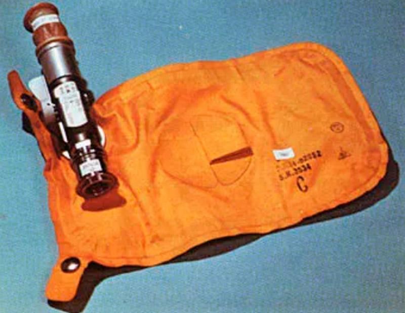 Sistema de coleta de resíduos utilizado na missão Apollo 11
