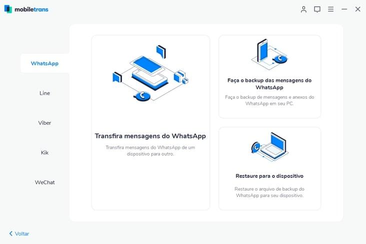 Wondershare MobileTrans Download para Windows em Português
