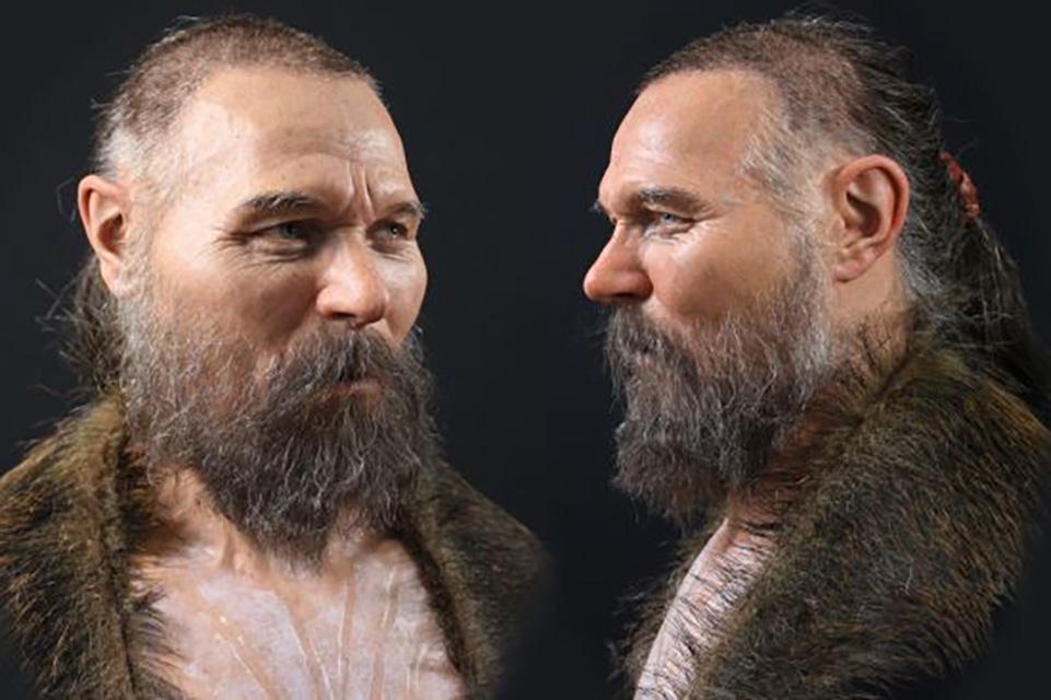 Rosto de homem da Idade das Pedras é recriado por cientistas