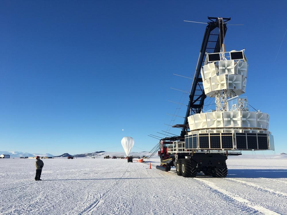 O ANITA captou duas vezes o que pode ser o terceiro neutrino
