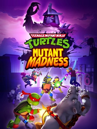 Arte da capa de Teenage Mutant Ninja Turtles: Mutant Madness.