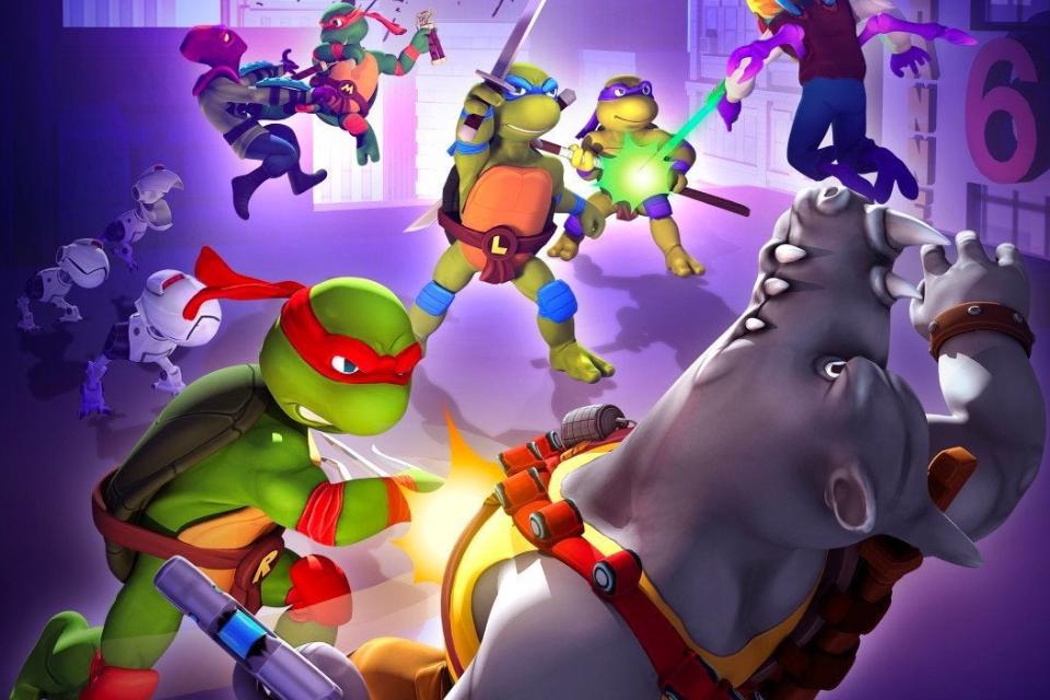 Tartarugas Ninja ganham jogo mobile free-to-play