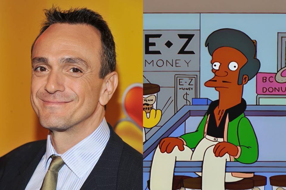 Hank Azaria, o dubladore de Apu