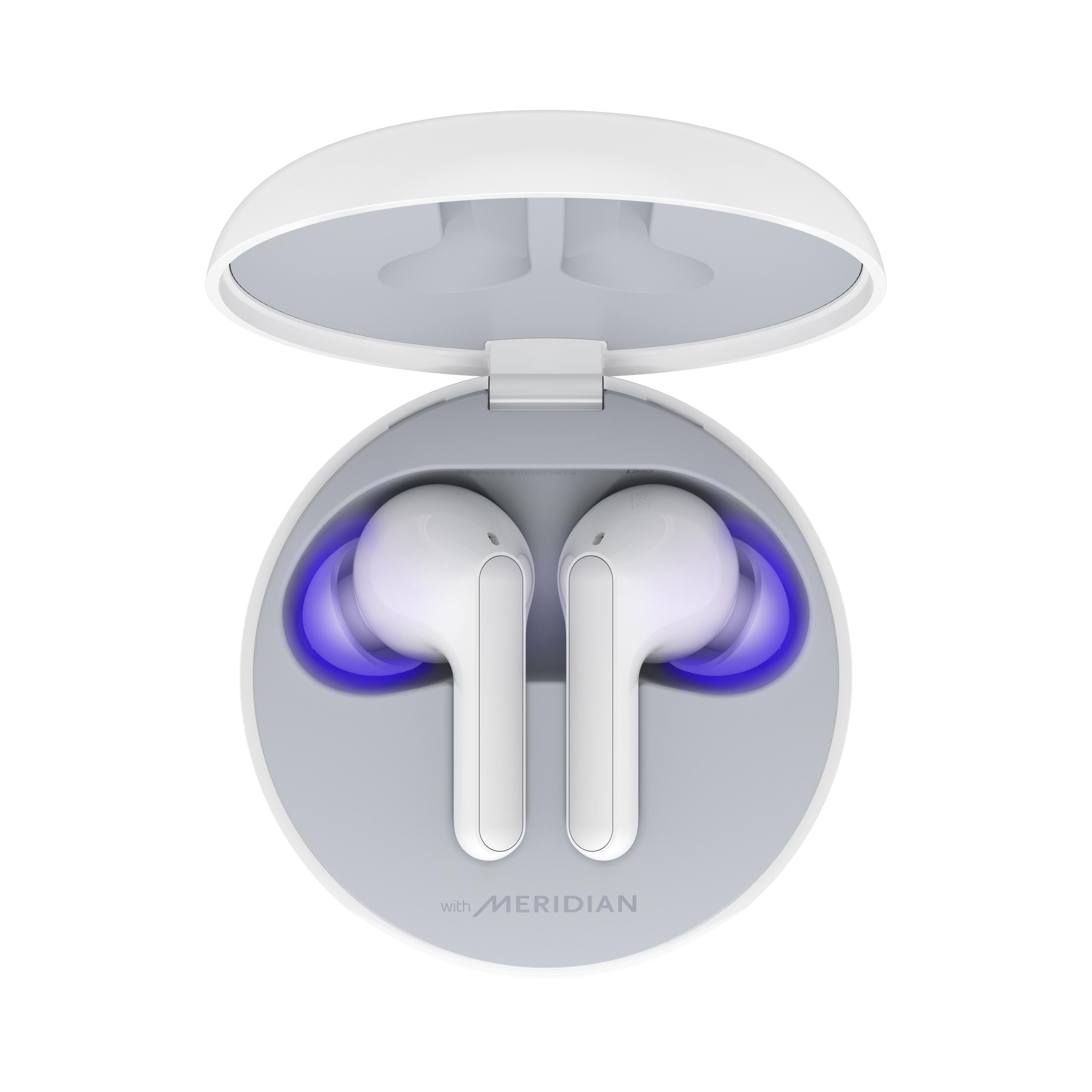 LG lança fone de ouvido 'autolimpante' e com som espacial