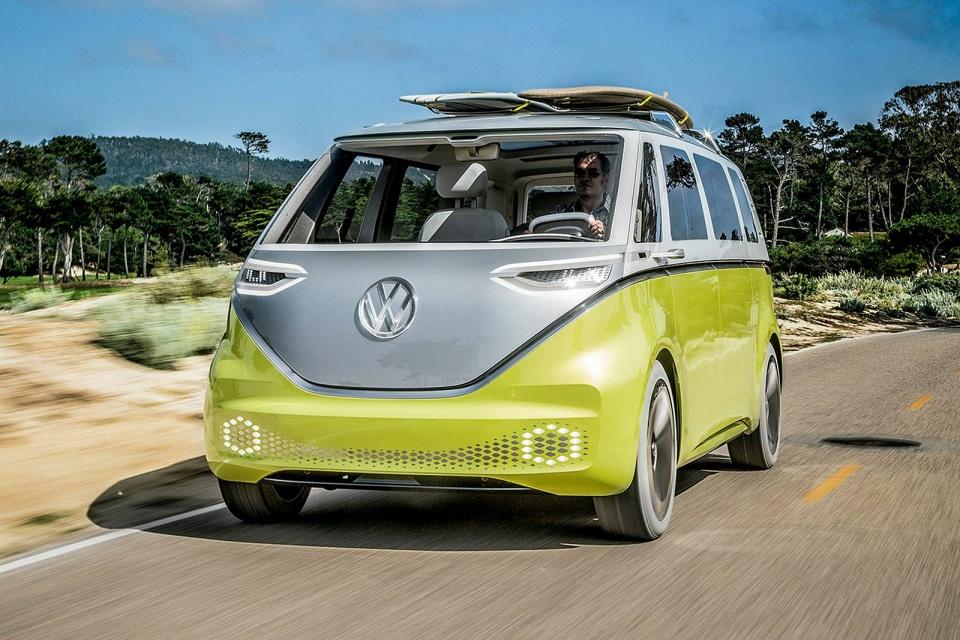 Kombi elétrica da Volkswagen poderá se chamar 'e-Samba'