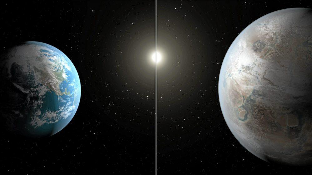 O Kepler-1649c, único exoplaneta parecido com a Terra, entre mais de 4.000 catalogados.