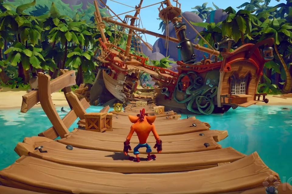 Crash Bandicoot 4 ganha gameplay em fase pirata; veja os detalhes
