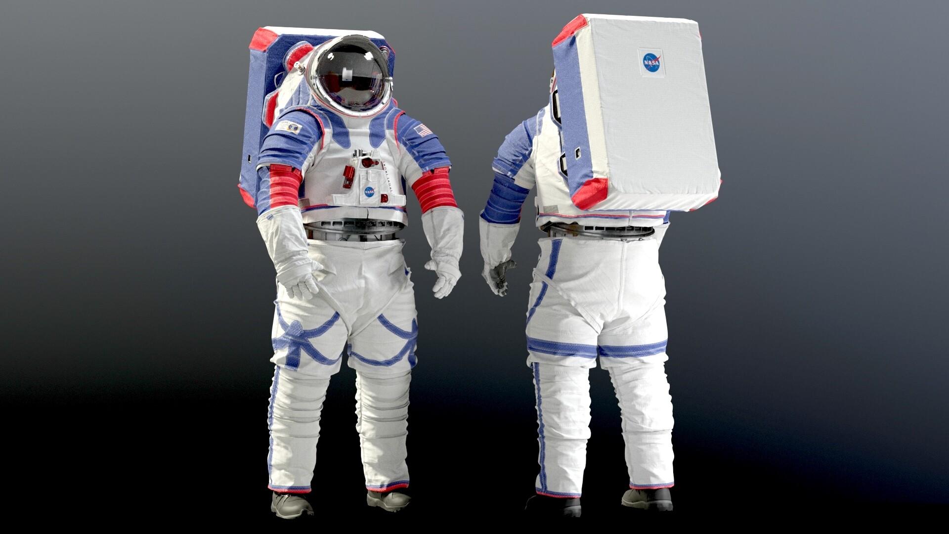 xEMU, sistema portátil de suporte à vida, foi desenvolvido com ajuda de inteligência artificial.