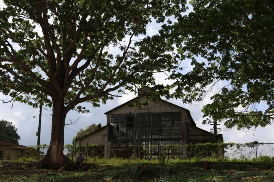 O armazém principal (Fonte: Wikimedia Commons)