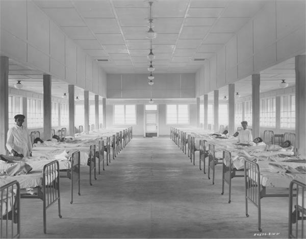 O moderno hospital de Fordlândia (Fonte: TheHenryFord.com/Reprodução)