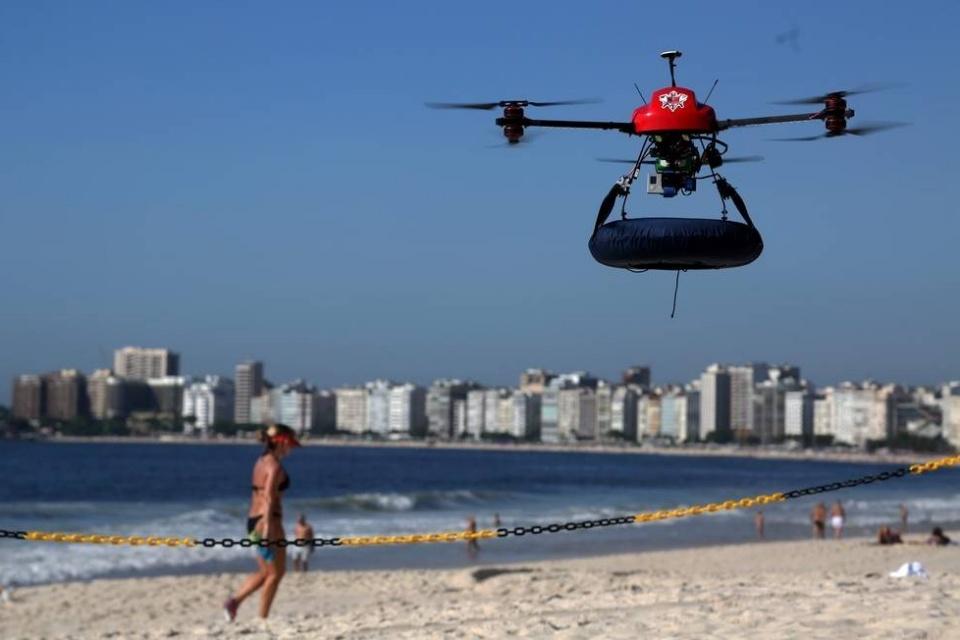 DJI lança mapa online que identifica resgates feitos com drones