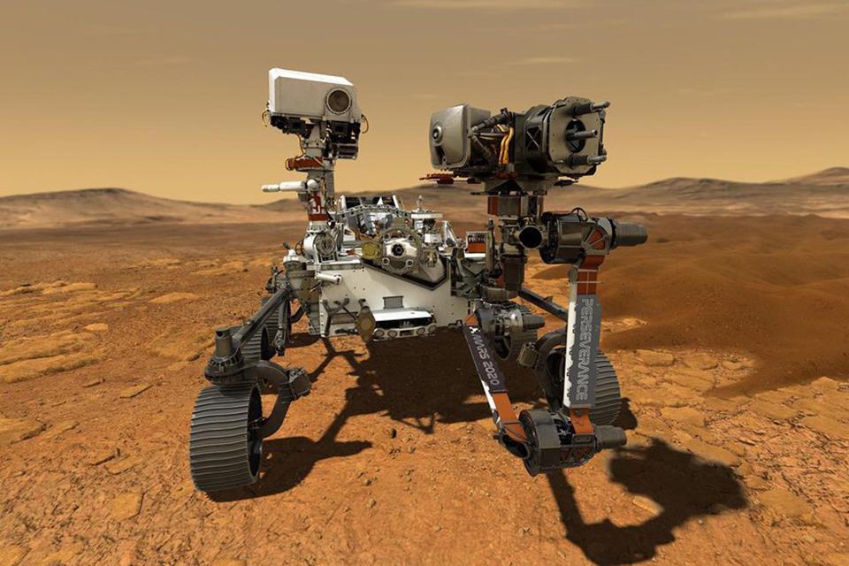 Lançamento do rover Perseverance para explorar Marte