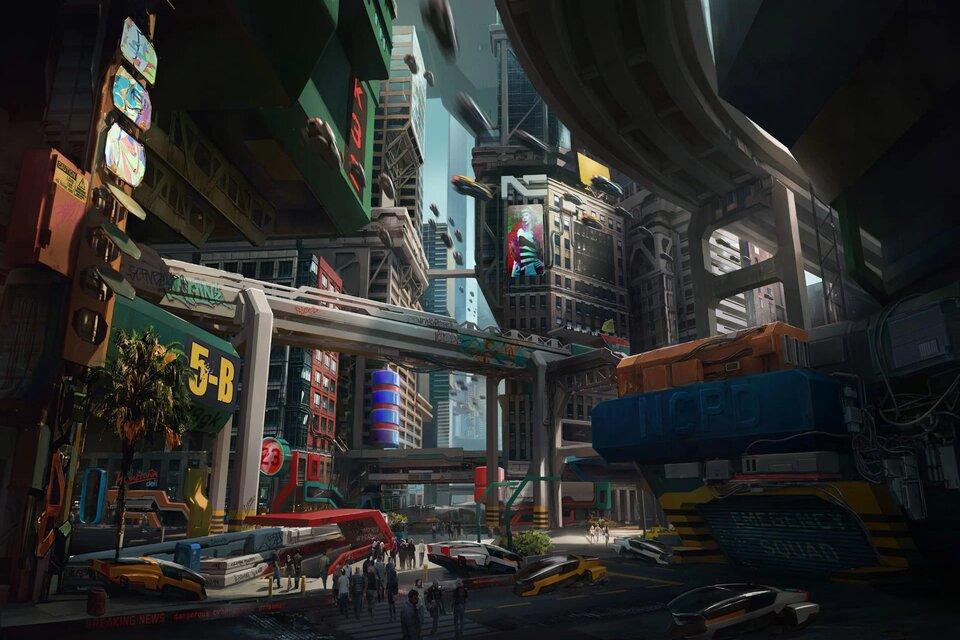 Cyberpunk 2077: novas imagens incríveis mostram locais inéditos