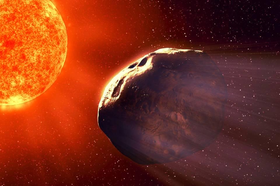 Astrônomos descobrem asteroide com mineral comum no manto terrestre