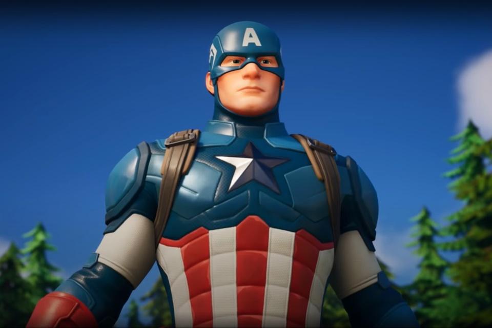 Capitão América é o novo personagem de Fortnite