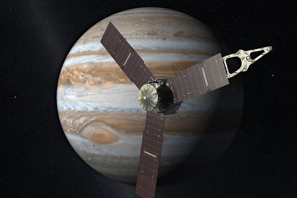Nova mancha de tempestade é descoberta em Júpiter