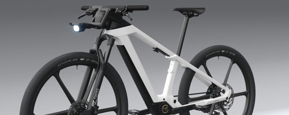 Imagem de: Bosch apresenta conceito de bicicleta elétrica futurista