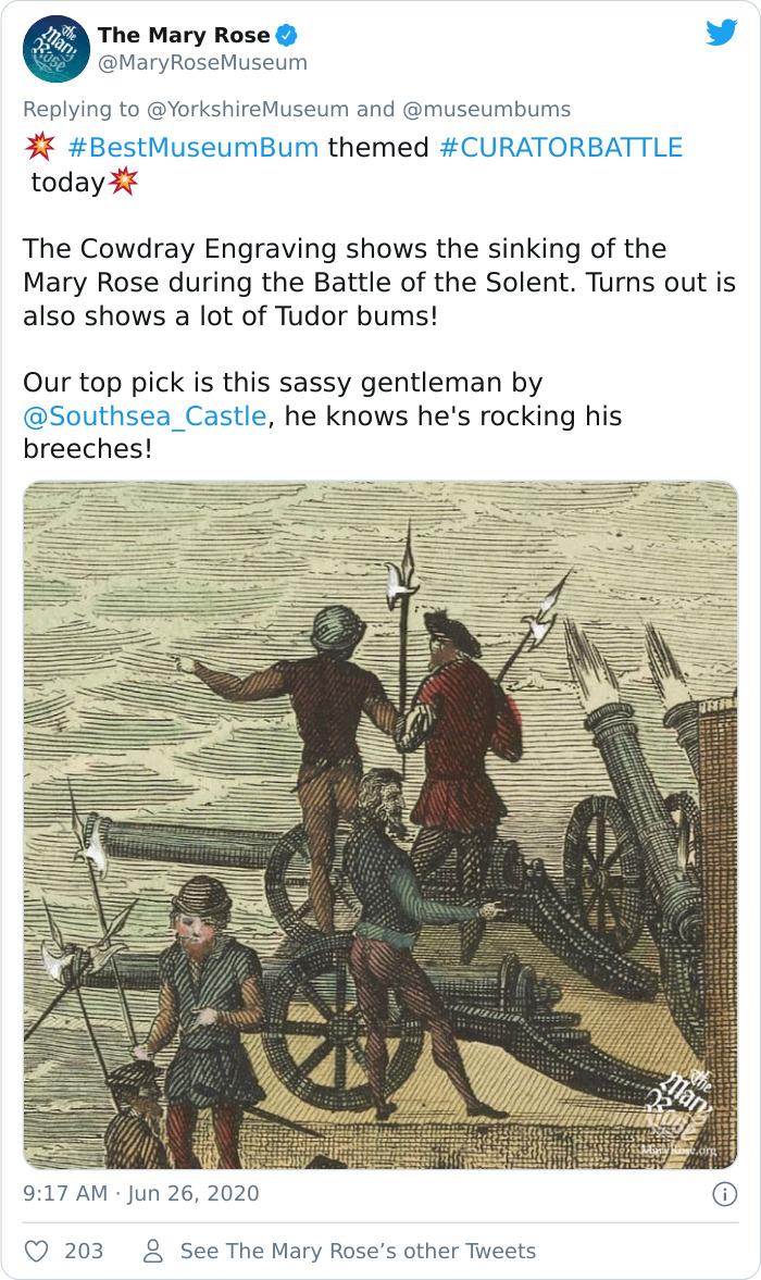 Fonte: @maryrosemuseum (Reprodução / Twitter)