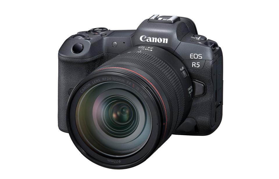 Com 45 MP, a Canon EOS R5 é a câmera de maior resolução feita pela marca
