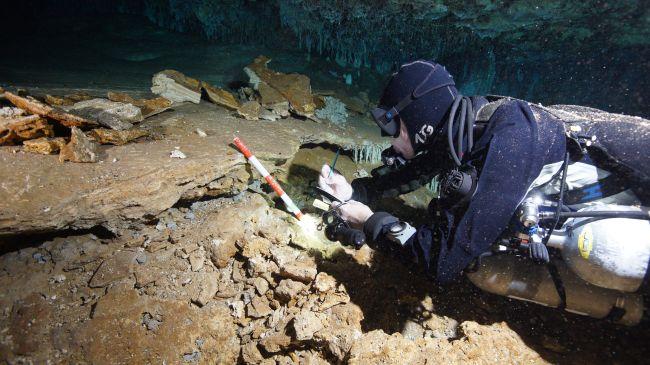 Local de mineração de ocre (Fonte: CINDAQ/Reprodução)